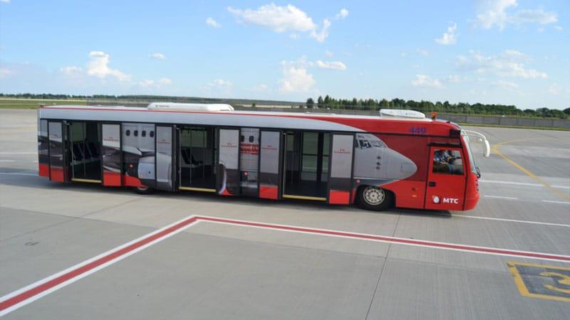 Автобус-шаттл между терминалами Щереметьево