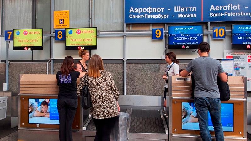 За сколько начинается регистрация на самолет -  первым делом подходите к стойке