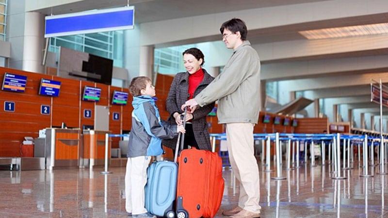 Сопровождение детей в самолете Аэрофлота
