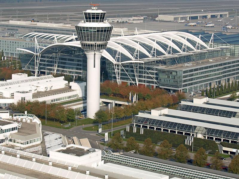 добраться из аэропорта Мюнхена до центра города