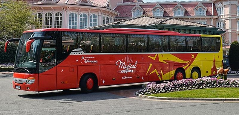 Автобус в Диснейленд Париж