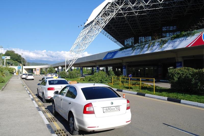 как доехать из аэропорта Адлера до Сочи