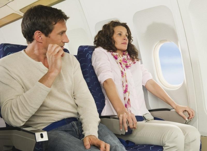 Страшно лететь на самолете