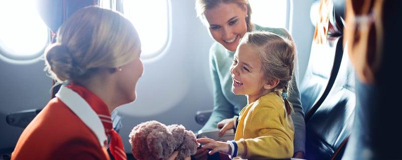 сколько стоит детский билет на самолет