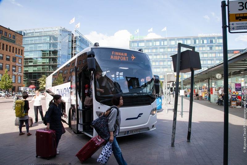 как доехать из аэропорта Хельсинки до центра города
