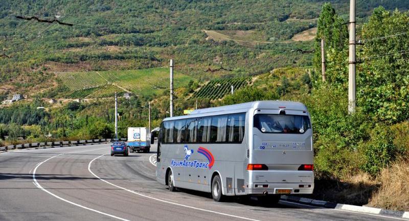 Из Симферополя до Ялты на автобусе