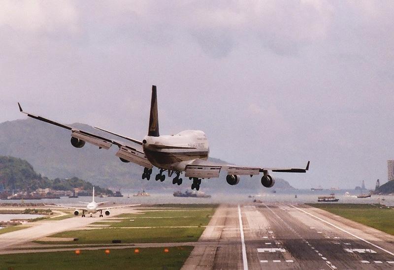 скорость самолета при посадке