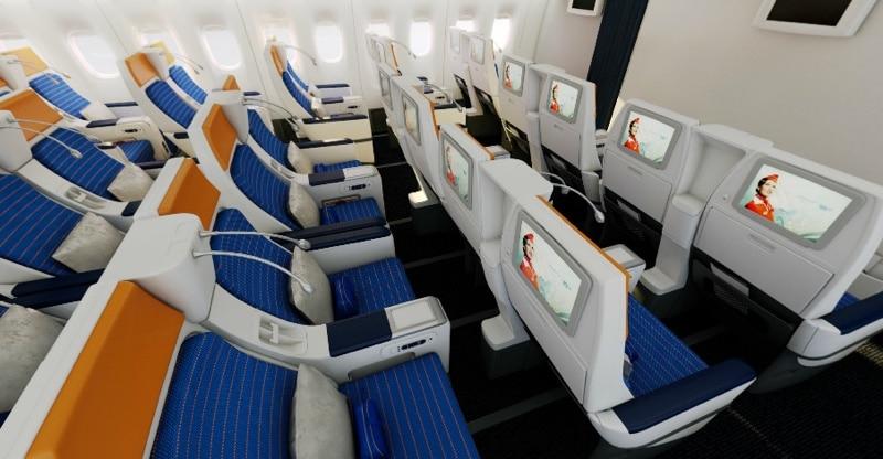 боинг 777 300 схема салона Аэрофлот