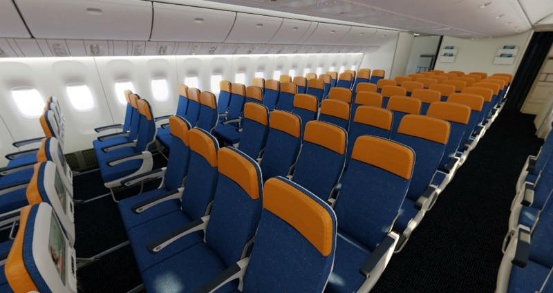 расположение мест в самолете боинг 777 300