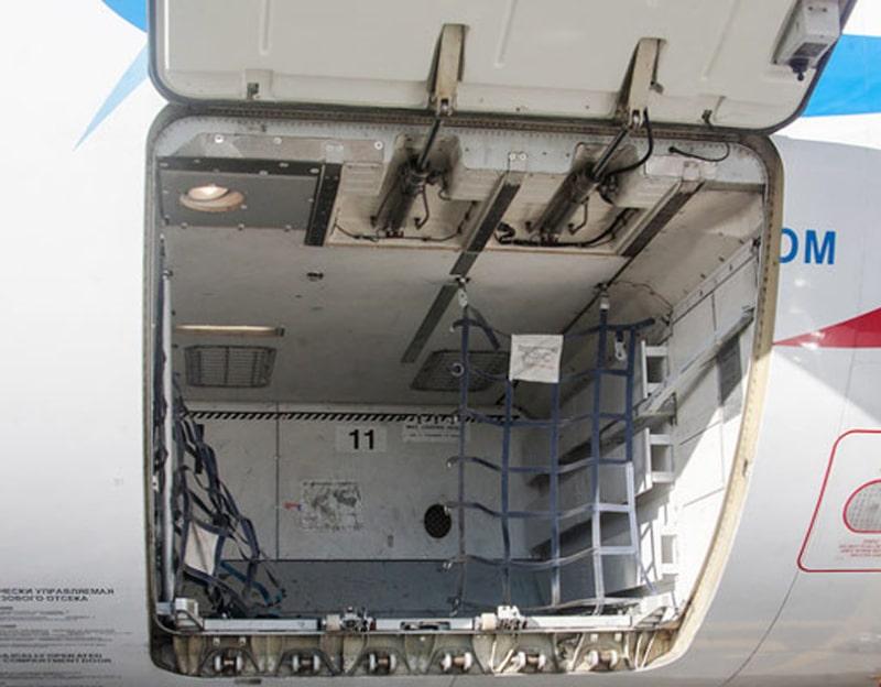 Какая температура в багажном отсеке самолета