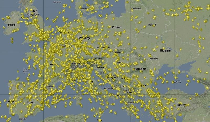 отследить самолет в реальном времени по номеру рейса