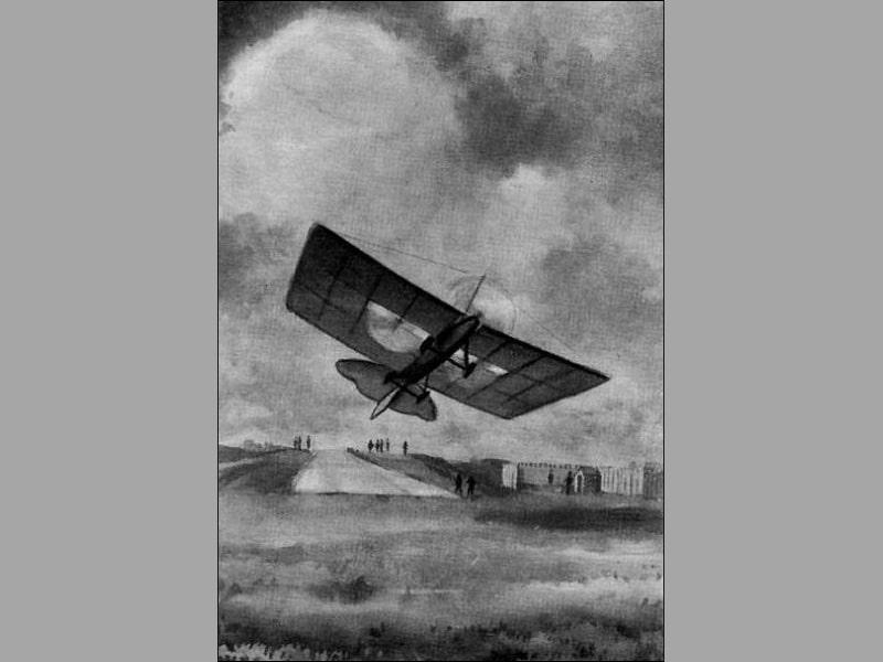 В каком году был построен первый самолет