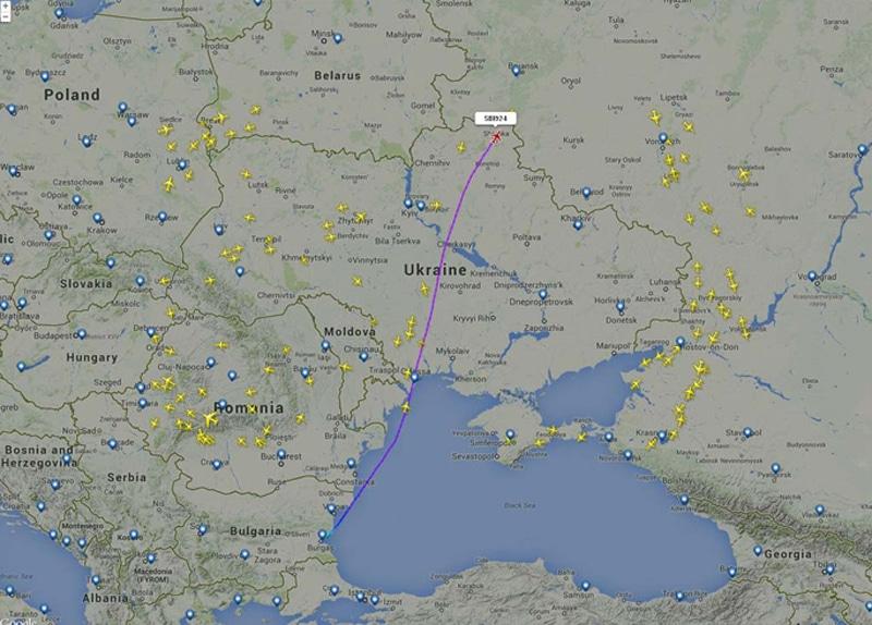 Сколько лететь из Москвы в Болгарию
