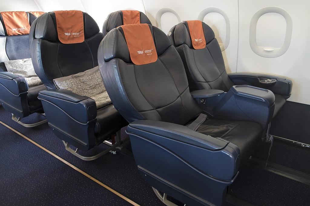 лучшие места в самолете Аэрофлот а320