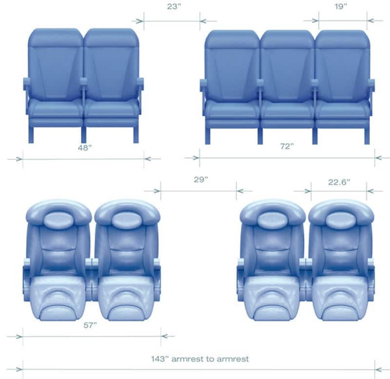 схема салона airbus а320