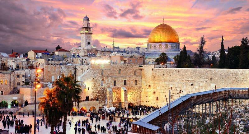 Сколько лететь до Иерусалима из Москвы