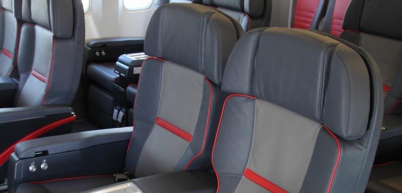Схема салона boeing 777-200: бизнес-класс