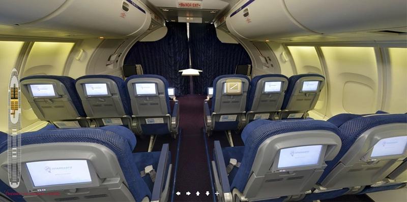 Схема салона Boeing 747-400