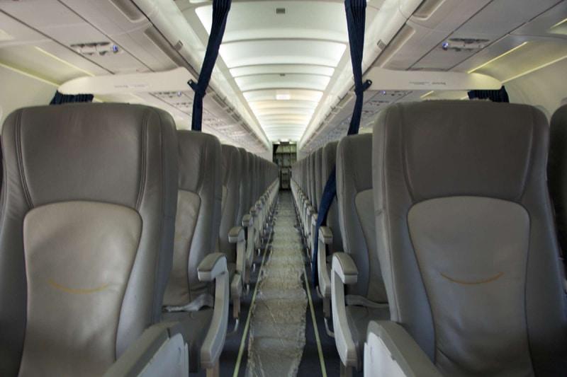 Расположение мест в салоне Аэробус 319