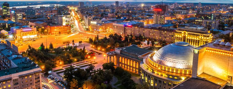 Время полета Москва – Новосибирск