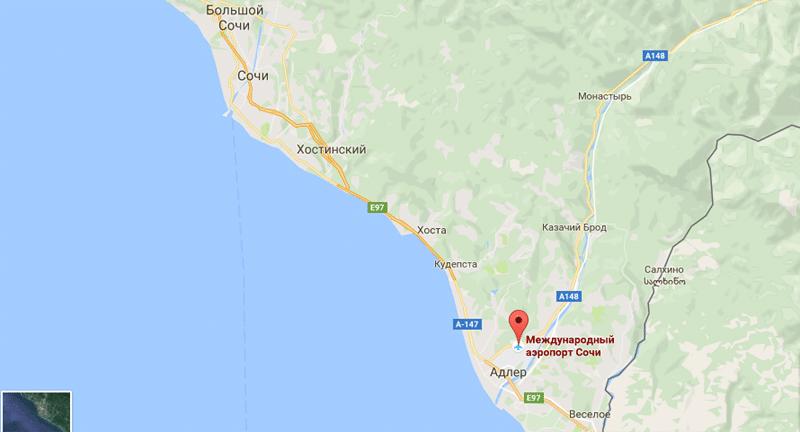 Где находится аэропорт в Адлере или в Сочи