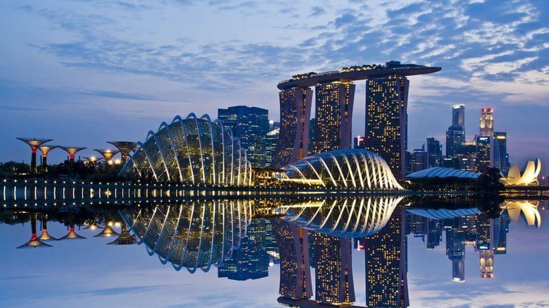 Время полета Москва – Сингапур