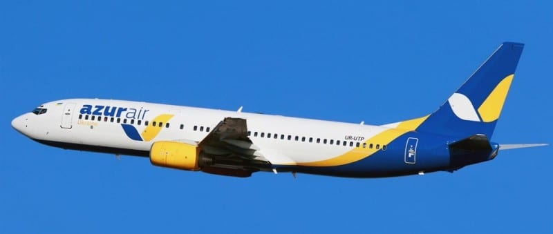 авиакомпания Azur Air чья компания