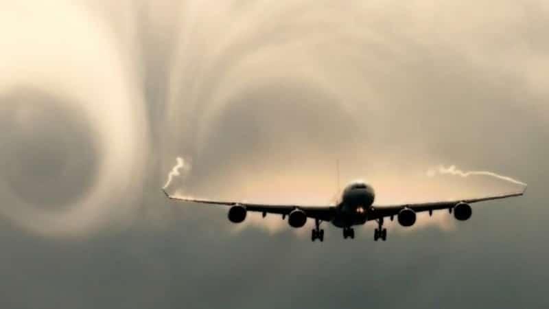 турбулетность самолета
