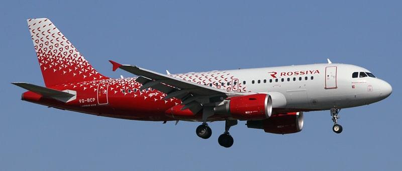 какие самолеты у авиакомпании Россия