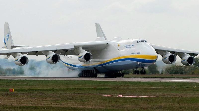 Технические характеристики самолета Мрия Ан-225