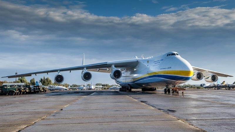 Какой самолет больше Мрия или Руслан