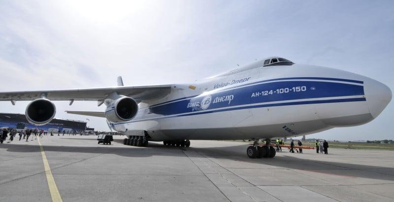 самый большой самолет Руслан