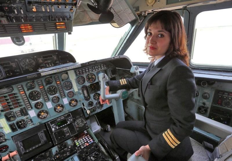 женщины пилоты в Аэрофлоте