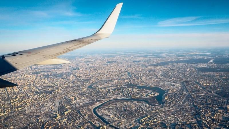 время полета Москва - Тюмень