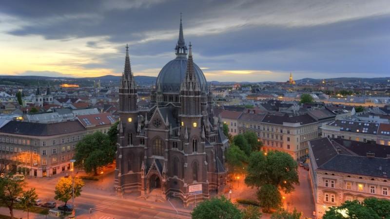 сколько лететь Москва - Вена