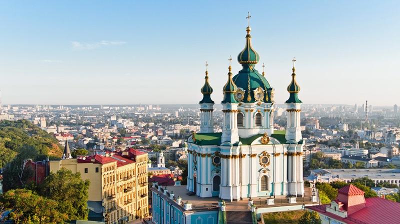 перелет Москва - Киев