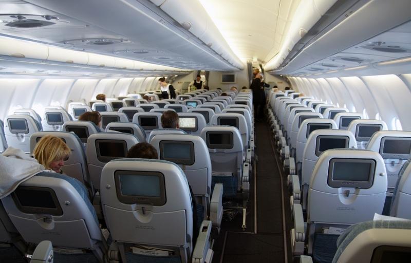 Расположение мест в самолете аэробус А330-200