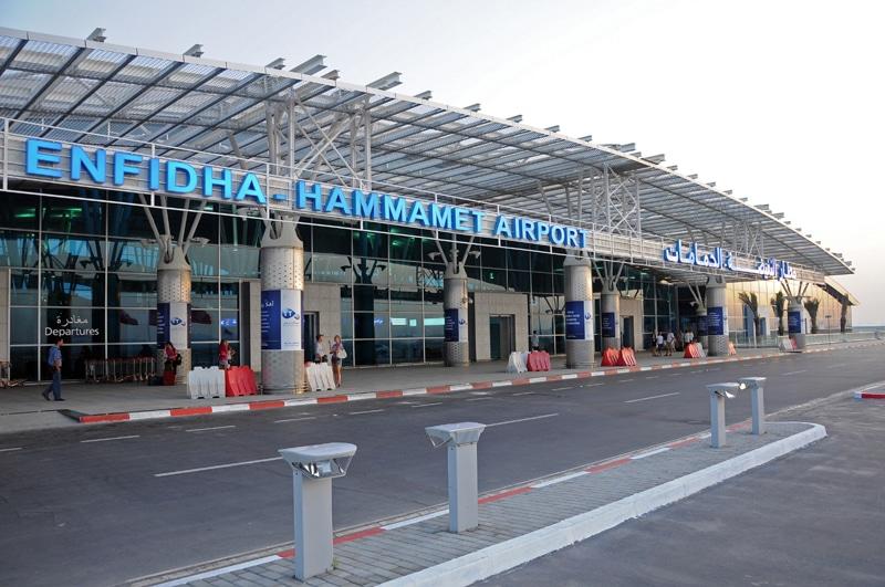 Аэропорт Энфида в Тунисе на карте
