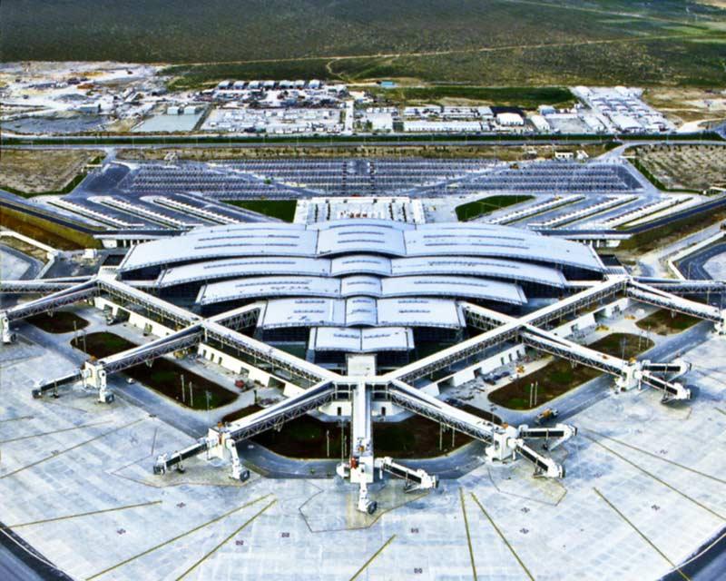 Аэропорт Энфида на карте Туниса