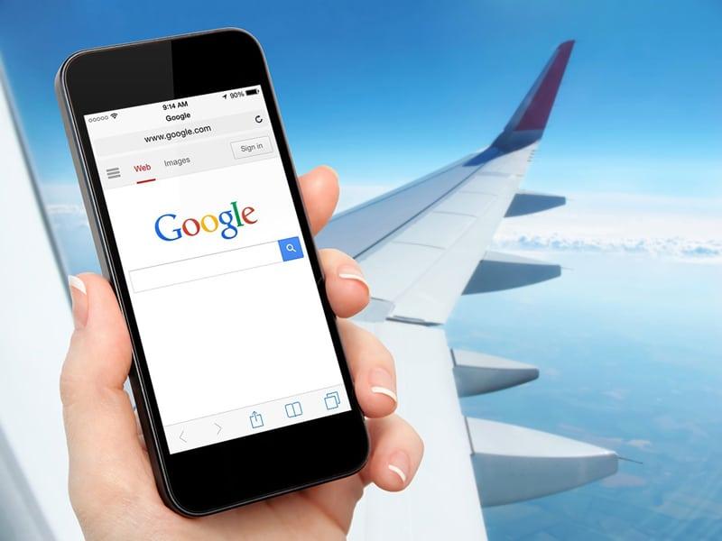 Можно ли пользоваться интернетом в самолете