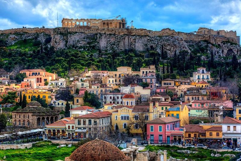 добраться из аэропорта Афин в центр города
