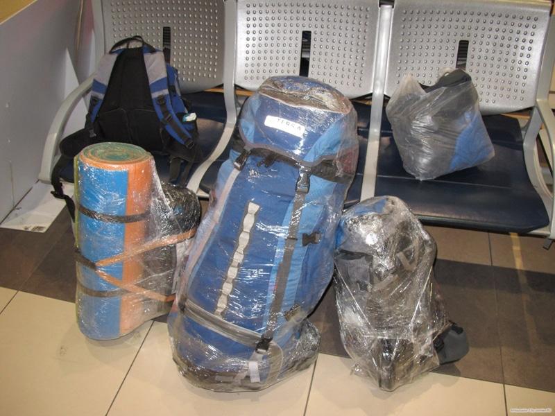 Как упаковать багаж в самолет