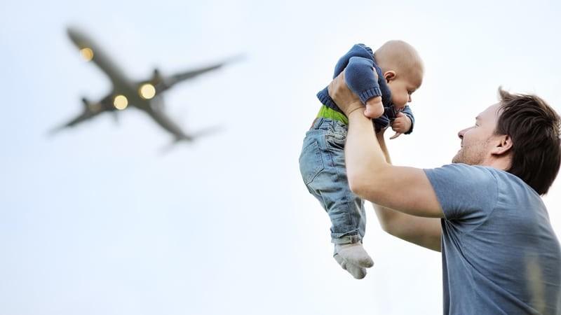 Перелет с годовалым ребенком