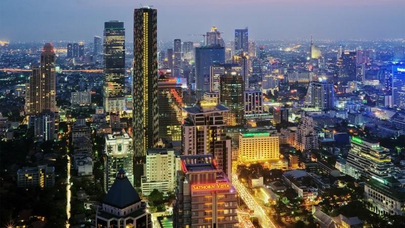время полета Казань - Тайланд