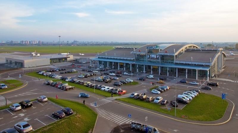 аэропорт Жуляны на карте