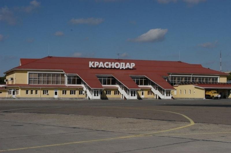 Карта аэропорта Краснодара