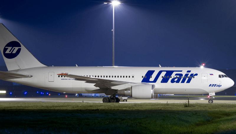 Боинг 767-200 Ютэйр схема салона