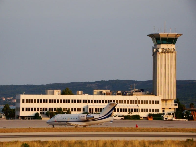 Аэропорты Хорватии список