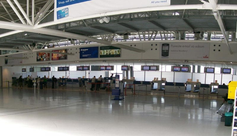Названия аэропортов в Хорватии