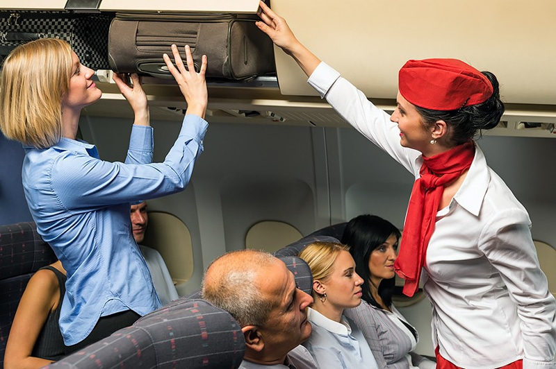 Правила перелета в самолете по России